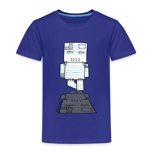 Paper Robot Zombie - Toddler Premium T-Shirt