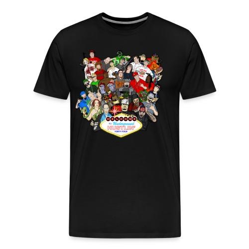 Underground Hustlin' 44 Cover 3xl & 4xl - Men's Premium T-Shirt