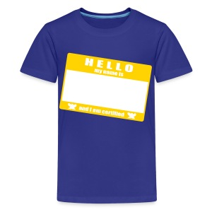 hello - Kids' Premium T-Shirt