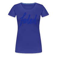 T-Shirts ~ Women's Premium T-Shirt ~ trademarked faded