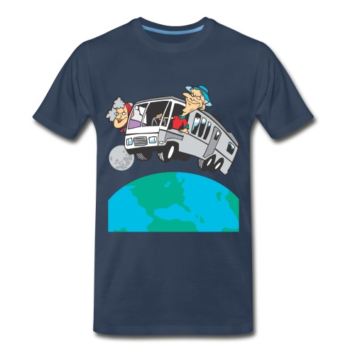 Retired and touring RV - Men's Premium T-Shirt