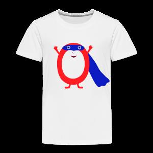 Superhero Zero - Toddler Premium T-Shirt