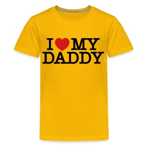 I love my Daddy - Kids' Premium T-Shirt