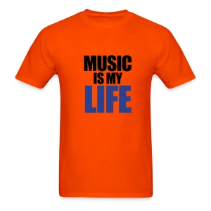 Men MUSIC IS MY LIFE - Men's T-Shirt
