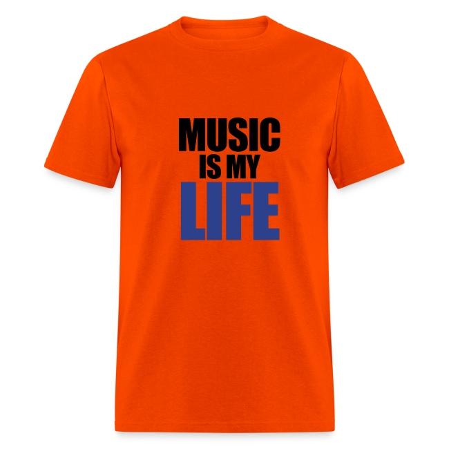 Men MUSIC IS MY LIFE
