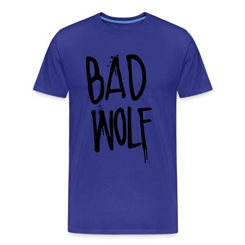 Doctor Who Bad Wolf Shirt - Men's Premium T-Shirt
