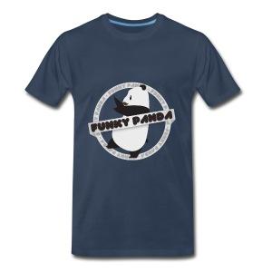 Funky Panda Logo Shirt! - Men's Premium T-Shirt