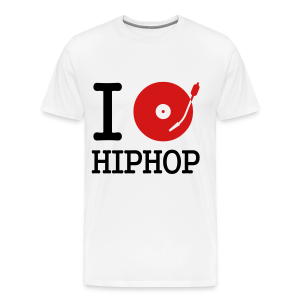 I Love Hip Hop - Men's Premium T-Shirt
