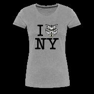 T-Shirts ~ Women's Premium T-Shirt ~ I LOVE NEW YORK