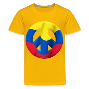 Kids Colombia Peace - Kids' Premium T-Shirt