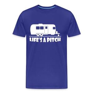 Life's a pitch - Men's Premium T-Shirt