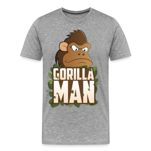 Gorilla Man big - Men's Premium T-Shirt