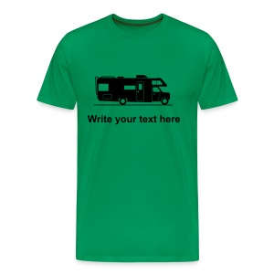 RV - add your own text t-shirt - Men's Premium T-Shirt