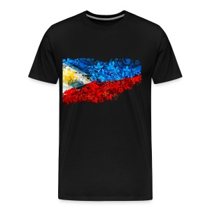 3XL or 4XL Filipino Flag Shirt - Men's Premium T-Shirt