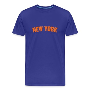 Men New York (Orange) - Men's Premium T-Shirt
