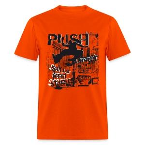 Push Limit Skills Meet Street Tic Tac - Men's T-Shirt