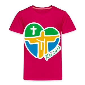 World Youth Day 2013 - Toddler Premium T-Shirt