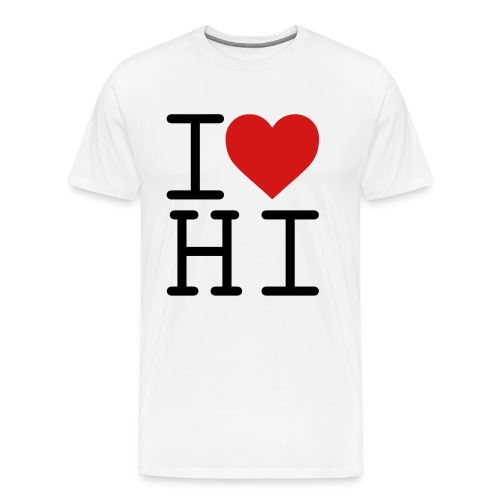 I Heart Hi - Men's Premium T-Shirt