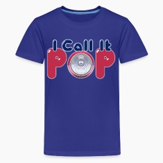 I Call It Pop Down With Detroit Kids' Shirts