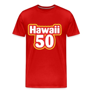 Men Hawaii 50 - Men's Premium T-Shirt
