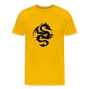 Men Chinese Dragon - Men's Premium T-Shirt