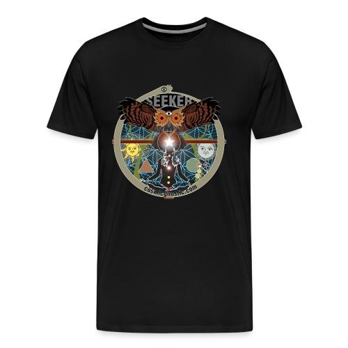 The Seeker Who Seeks the Secrets of the Mystic Owl - Men's Premium T-Shirt