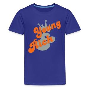 Kids Young Rich - Kids' Premium T-Shirt