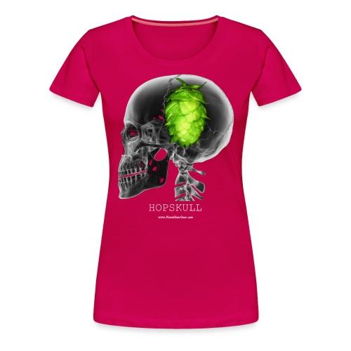 HOPSKULL Women's Premium T-Shirt - Women's Premium T-Shirt