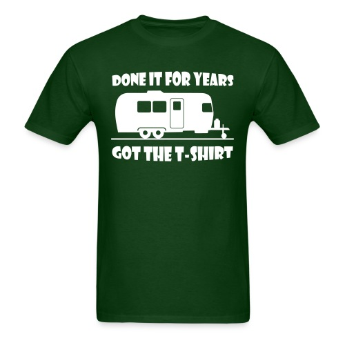 Done it for years trailer t-shirt - Men's T-Shirt