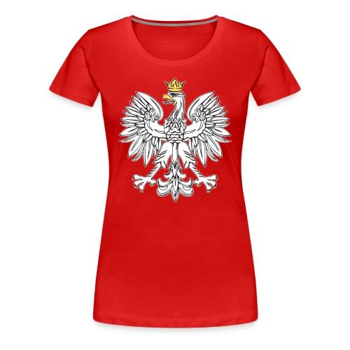 Womens Polish Bird T - Women's Premium T-Shirt