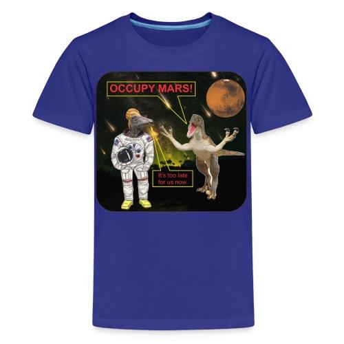 Occupy Mars c - Kids' Premium T-Shirt
