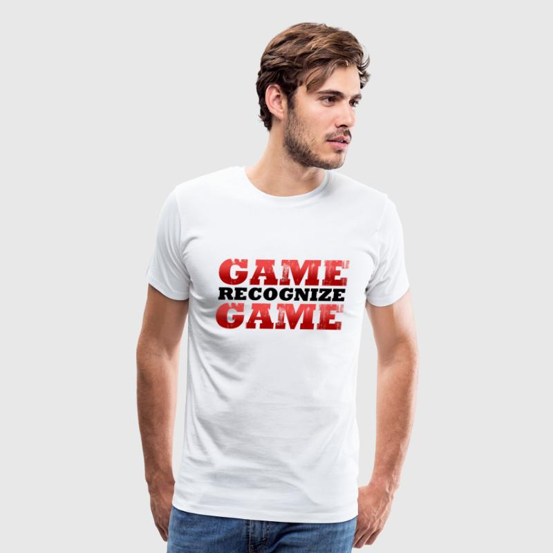 Game Recognize Game Design T-Shirts - Men's Premium T-Shirt