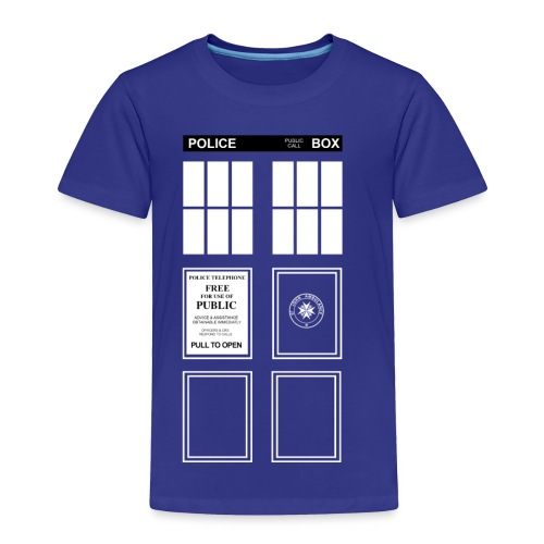 Doctor Who TARDIS - Toddler Premium T-Shirt