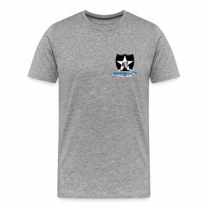 2nd Infantry CIB - Men's Premium T-Shirt