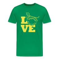 T-Shirts ~ Men's Premium T-Shirt ~ LOVE Physical Therapy