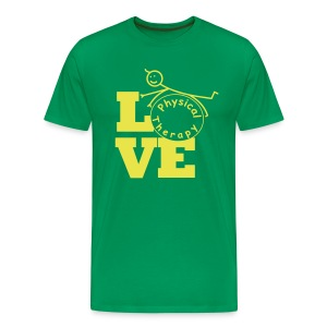LOVE Physical Therapy - Men's Premium T-Shirt