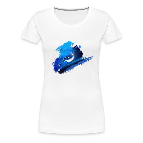 Women's Blue Jay T-shirt - Women's Premium T-Shirt