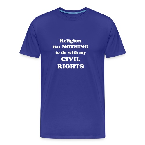 Men's Civil Rights T-Shirt - Men's Premium T-Shirt