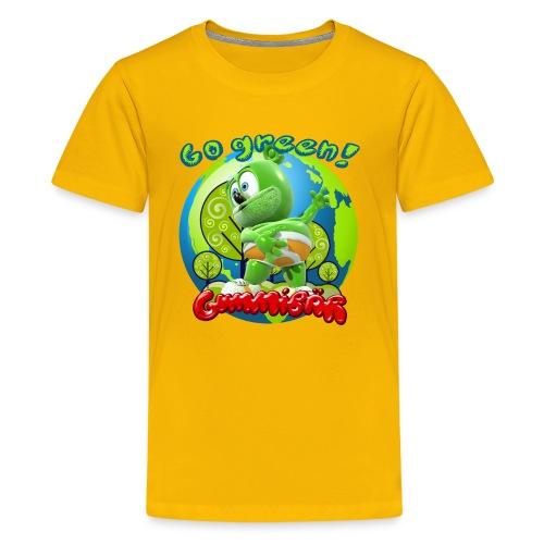 Gummibär (The Gummy Bear) Go Green Earth Day Kid's T-Shirt - Kids' Premium T-Shirt
