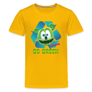 Kids' Shirts ~ Kids' Premium T-Shirt ~ Gummibär Recycle Earth Day Kid's T-Shirt