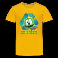 Kids' Shirts ~ Kids' Premium T-Shirt ~ Gummibär Recycle Earth Day Kid's T-Shirt