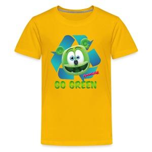 Gummibär (The Gummy Bear) Recycle Earth Day Kid's T-Shirt - Kids' Premium T-Shirt