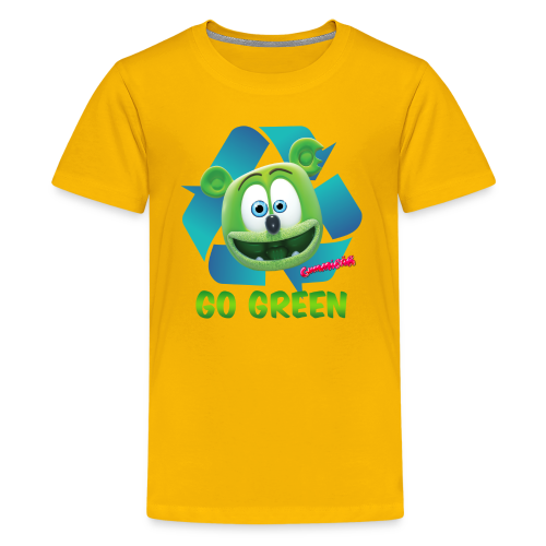 Gummibär (The Gummy Bear) Recycle Earth Day Kid's T-Shirt - Kids' Premium T-Shirt