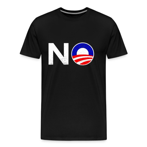No Obama - Men's Premium T-Shirt