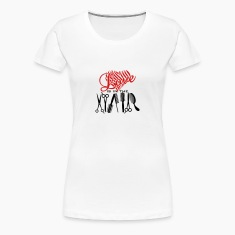 love is in hair (a, 2c) Women's T-Shirts