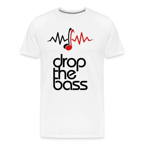 Drop The Bass - Men's Premium T-Shirt