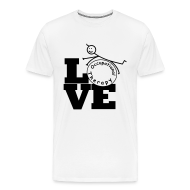 T-Shirts ~ Men's Premium T-Shirt ~ LOVE OT - Occupational therapy