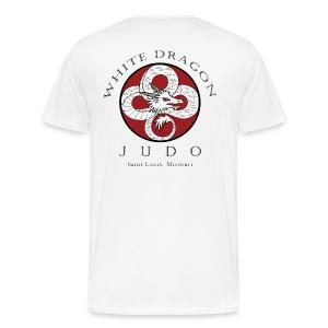 Heavyweight T-Shirt logo on front and back - Men's Premium T-Shirt