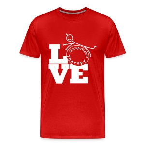 LOVE OT - Occupational therapy - Men's Premium T-Shirt