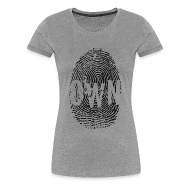 T-Shirts ~ Women's Premium T-Shirt ~ fingerprint